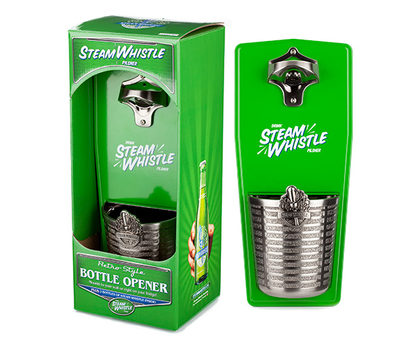 Steam Whistle Wall Mount Opener