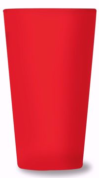 Picture of Arc 16oz Spectrum Mixing Glass (Red Frosted Spray)